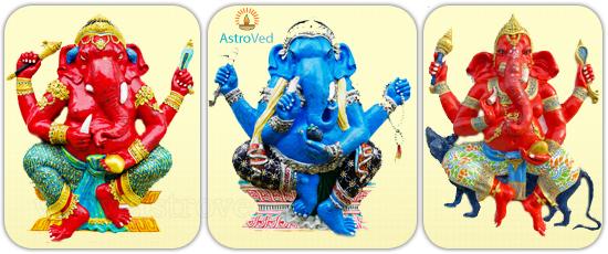Ganesha Trunk Postures