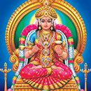 Kuroothi Pushpanjali-Abhishekam-Goddess Bhagavathi-with a mixture of Kumkum
