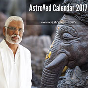 AstroVed 2017 Calendar