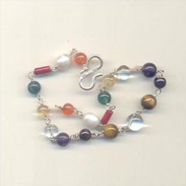 9 Planet Gemstone Bracelet