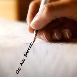 Om Aim Shreem Kleem Namaha: 10008 Proxy Sounds Writing for Wish Fulfillment