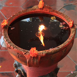Sponsor Oil for Eternal Jyoti Lamp