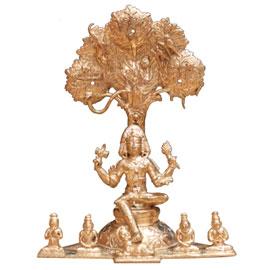 12 Inch Dakshinamurthy (Jupiter) Statue