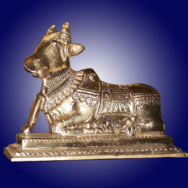 Energized Nandhi Statue - Mystical Tool for Karma Removal